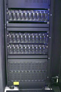 Some of VCUCC's SAN disk units